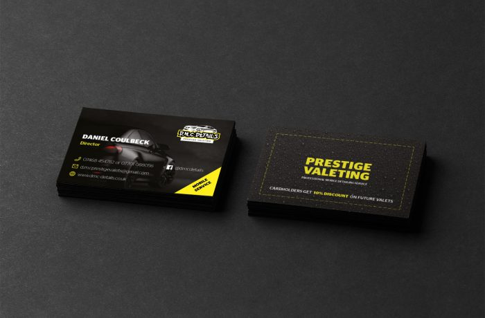 DMC Details Business Cards