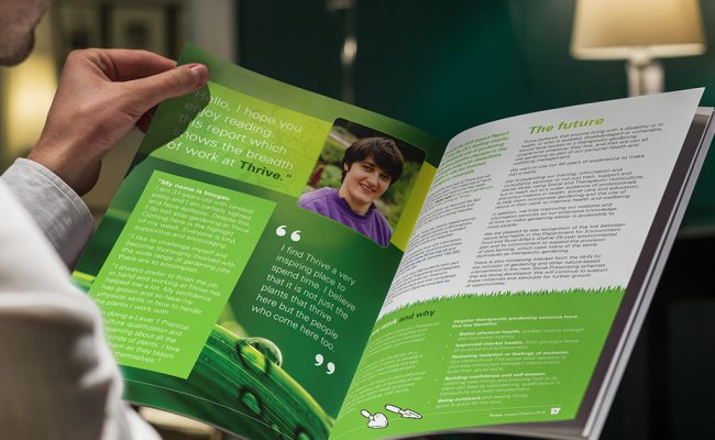Thrive Impact Report – Pages