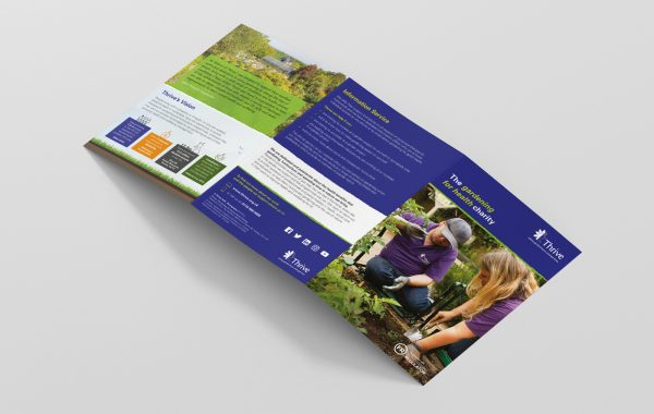 Thrive Roll Fold Leaflets